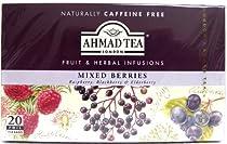 Ahmad Tea London Mixed Berries (Raspberry, Blackberry & Elderberry) Caffeine FREE