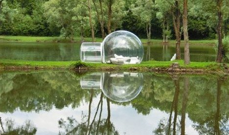 TM Dreamland Outdoor Camping Clear Inflatable Lawn Tent Bubble Tent Dream House