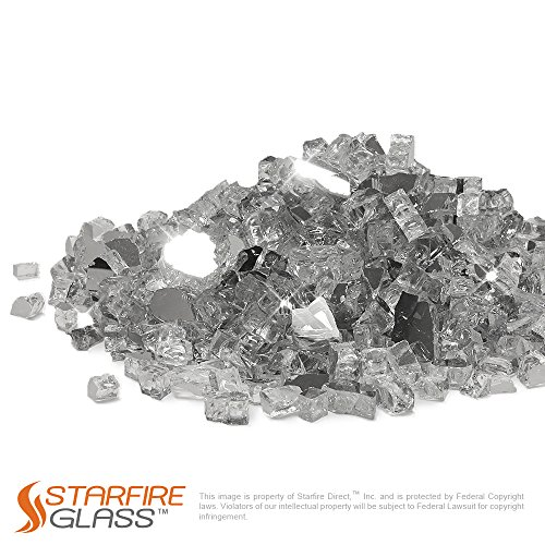 Starfire-Glass-20-Pound-Fire-Glass-with-Fireplace-Glass-and-Fire-Pit-Glass-12-Inch-Titanium-Reflective-Supreme