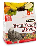 Zupreem FruitBlend Parrot Conure Medium Large 3.5 LB