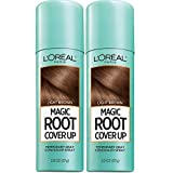 L'Oreal Paris Hair Color Root Cover Up Temporary Gray Concealer Spray Light Brown (Pack of 2) (Packaging May Vary) (Color: Light Brown, Tamaño: 2 Ounce (Pack of 2))