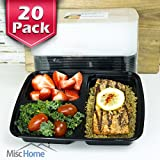 20-Pack-3-Compartment-Meal-Prep-Containers-BPA-Free-Portion-Control-Bento-Boxes-39-Oz