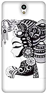 The Racoon Grip printed designer hard back mobile phone case cover for Lenovo Vibe S1. (Lady)