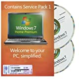 Windows 7 Home Premium 32 & 64Bit Refurbished (Service Pack 1) English UK