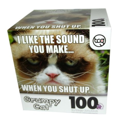 Grumpy Cat I Like the Sound Puzzle-100 pcs