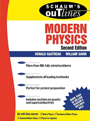 Schaum's Outline of Modern Physics (Schaum's Outline Series)