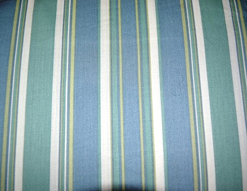 Tommy Bahama Harbour Stripe Blue Green 4-Piece King Sheet Set 100% Cotton Sateen 300 Thread Count front-957328