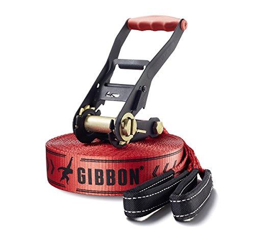 Gibbon, Set Slackline Classic X13 Tree Pro, Rosso (rot)
