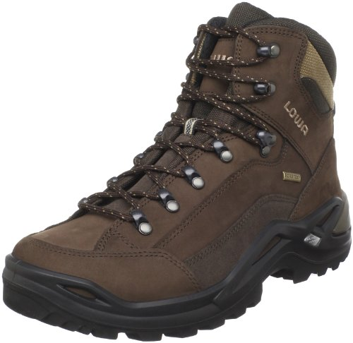 Lowa Men's Renegade GTX Mid Hiking Boot,Expresso/Brown,8 M U