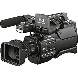 Sony HXR-MC2500 HXRMC2500 Shoulder Mount AVCHD Camcorder with 3-Inch LCD (Black) With 16GB SSE Package Bundle Including: .43x Wide Angle & 2.2x Telephoto Lenses, 3 Piece Multi-Coated Filter Kit, LED Video Light, Replacement NP-F970 Battery, External Trave