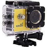 Original SJ4000 WiFi SJCAM Action Camera Diving 30M Waterproof Camera 1080P Full HD Underwater Sport Camera Sport DV Gopro Style - Yellow