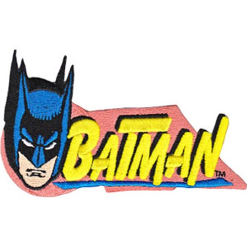 Application DC Comics Batman Head Patch