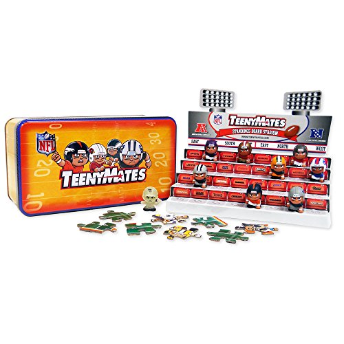 The Party Animal Teeny Mates NFL Series 5 Collector Tin (Tiny Mates Football compare prices)