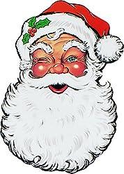 Planet Jashn Christmas Santa Face Cutout