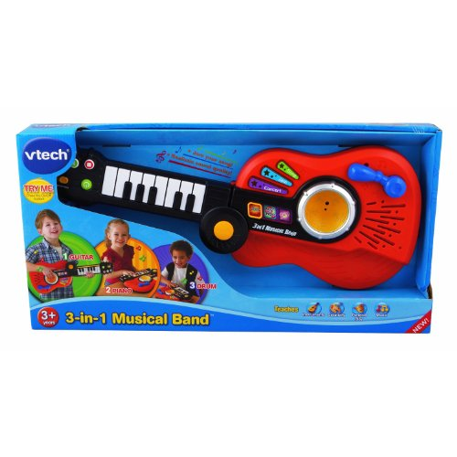 Vtech - 3-In-1 Musical Band front-926300