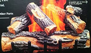 "Comfort Glow Shenandoah Oak Natural 18"" Gas Logs"