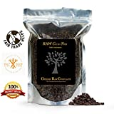 #1 RAW ORGANIC CACAO NIBS - FUNGUS FREE! 100% Indonesian Fair Trade, Exquisite Superfood Quality! Enhance Smoothies, Trail Mixes, and Much More. **FREE BONUS Raw Cacao Recipe Book** Superior Magnesium, Iron, and Antioxidant Absorption, 16 oz