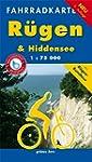 Fahrradkarte R�gen & Hiddensee: Mit R...