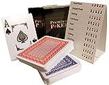 2x Profi Plastik Spielkarten