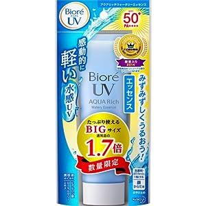 Biore Sarasara UV Aqua Rich Watery Essence Sunscreen SPF50+ PA++++ 85g 2016 spring limited Edition