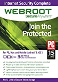 Webroot SecureAnywhere Internet Security Complete 2015 - 5 Device