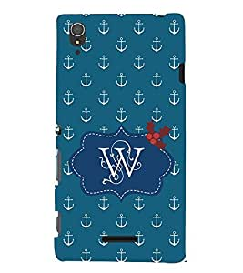 EPICCASE Lots of Anchor Mobile Back Case Cover For Sony Xperia T3 (Designer Case)