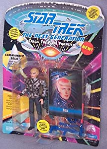 Star Trek The Next Generation Sela in Romulan Uniform 4 inch Action Figure