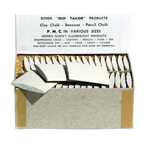 Jems Tailor Chalk ~ White ~ 36 Pieces/box (Jem Media compare prices)