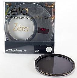 Kenko Zeta from Hoya 72mm ND-4 (0.6) ZR - Super Multi-Coated KZ-72ND4