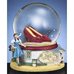 The Wizard of Oz Ruby Slippers Water Globe