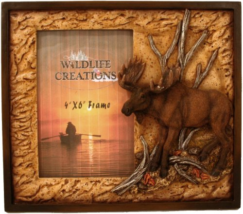 Moose Picture Frame by Wildlife Creations