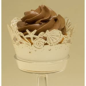 Click to buy Seashells Cupcake Wrappers, 12/pkg.from Amazon!