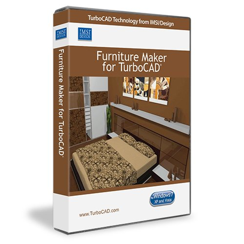Furniture Maker 10 Plug In For TurboCAD Software 2D U0026 3D Design CAD Program