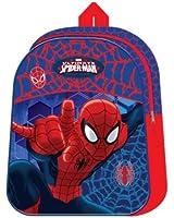 Marvel Official Ultimate Spiderman Childrens Adjustable Strap Backpack