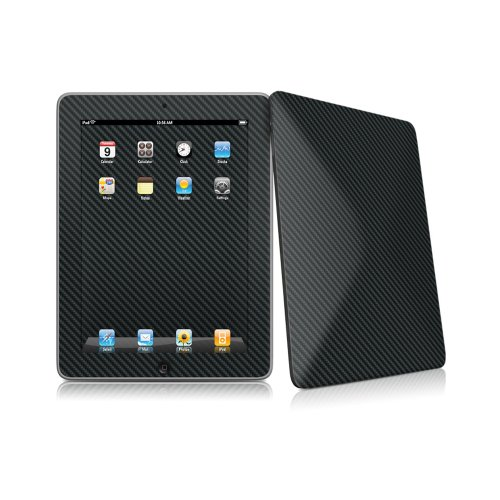Decal Girl Protective iPad Carbon High Gloss Finish With Wallpaper