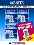 Brita 133 Lot 3 + 1 Cartouches 1200 L