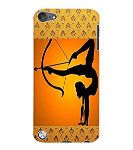 ColourCraft The Archer Design Back Case Cover for APPLE IPOD TOUCH 5