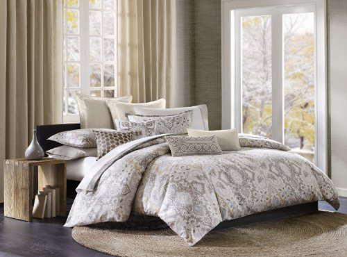 For Sale! Echo Odyssey Duvet Cover, Full/Queen, Multicolored