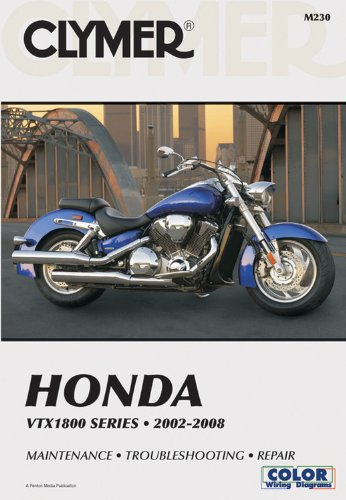 Clymer Honda Vtx1800 Series 2002-2008 *Maintenance *Troubleshooting *Repair front-397257