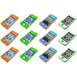 Set Of 12 Water Rings Smartphone Childrens Kids Toy Handheld Water Game (Colors May Vary)