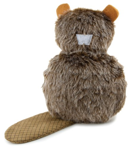 Petsafe Pogo Plush® Beaver Dog Toy, Large