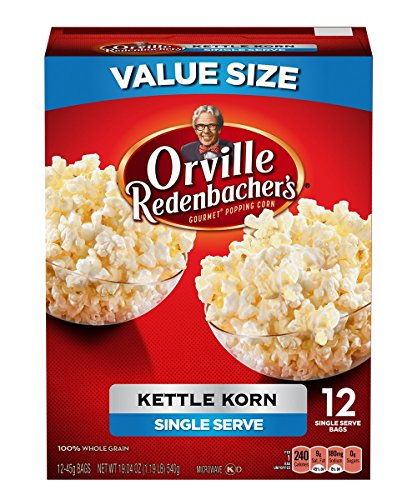 Orville Redenbacher's Kettle Corn Mini, 19.05 Ounce (Pack of 6) (Kettle Corn Mini Bags compare prices)