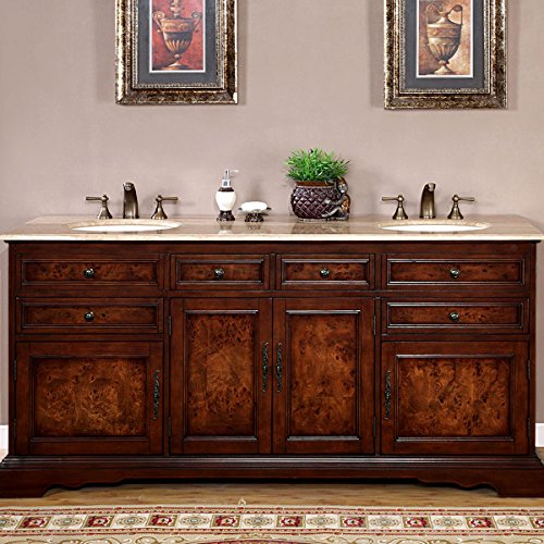 Silkroad-Exclusive-HYP-0716-T-UIC-72-Travertine-Stone-Top-Double-Sink-Bathroom-Vanity-with-Bath-Cabinet-72-Inch