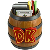 PDP Donkey Kong Barrel Game Card Storage - Nintendo 2DS