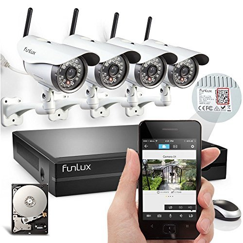 Why Should You Buy Funlux® 4 Megapixel 720P HD Wireless Outdoor IP Network Home Surveillance Camera...