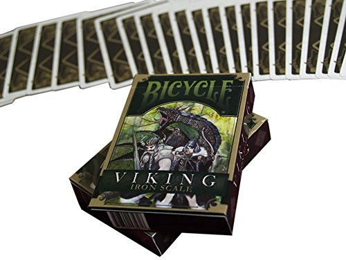 MMS Bicycle Viking Iron Scale Deck by Crooked Kings Cards - Trick