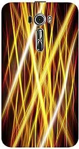 Meetarts Laser550_D815 Mobile Case for Asus Zenfone 2 Laser Ze550Kl (Multicolor)