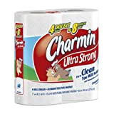 Charmin Ultra Strong, Double Rolls, 4 Count Packs (Pack of 10) 40 Total Rolls