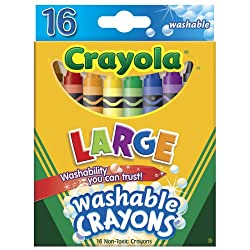 [Best price] Arts & Crafts - Crayola Washable Crayons 16-pk. - toys-games