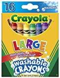 Crayola Washable Crayons 16-pk.